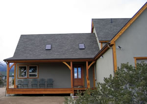 timberframe home construction
